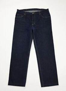 Rifle-jeans-uomo-usato-gamba-dritta-W42-tg-56-denim-boyfriend-blue-street-T4738