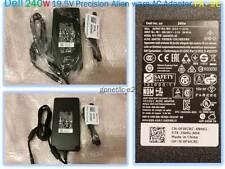 NEW Dell 240W 19.5V Precision Alienware AC Adapter PA-9E DP/N 0FWCRC
