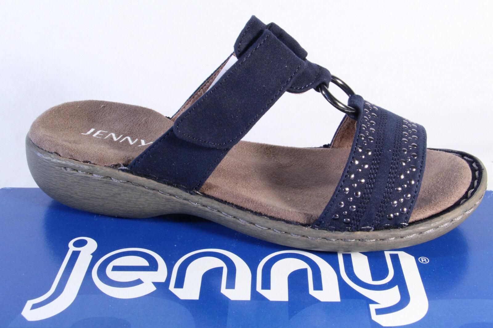 Jenny señora sandalia es sandalias azul, de velcro! nuevo!