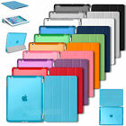 Ultra Slim Magnetic Stand Smart Cover Back Case For Apple iPad 2 iPad 3 iPad 4