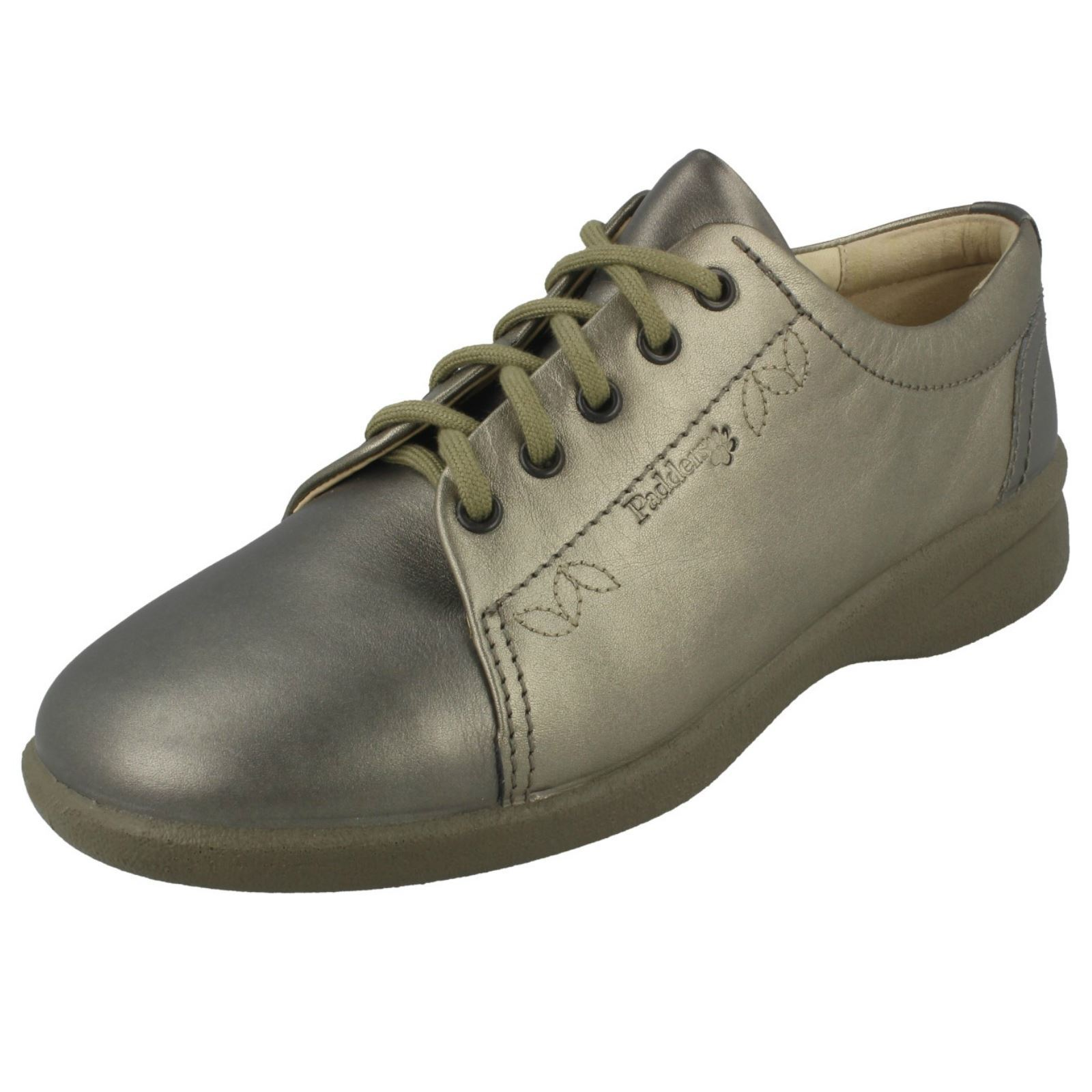 Ladies Padders Wide Fitting Casual Lace Up shoes - Refresh2