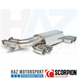 Scorpion-Exhausts-Rear-Silencer-Upgrade-Back-Box-Quad-Exit-BMW-3-Series-E46-M3