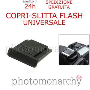 Copri Slitta Flash.Dettagli Su Copri Slitta Flash Protezione Universale Hot Shoe Per Reflex Nikon