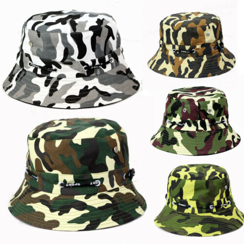 Bucket Hat Boonie Hunt Fishing Outdoor Foldable Solid Cap Womens Mens Travel Hat