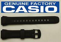 Casio Wv-58a Original 17mm Black Rubber Watch Band Strap Wv-58e Wv-58j Wv-58u