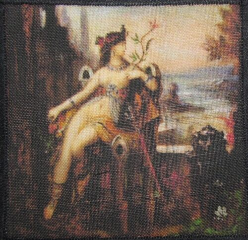 Printed Sew On Patch CLEOPATRA DETAIL Gustav Moreau 1826-1898