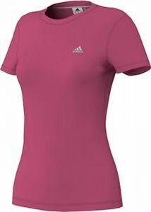 Adidas Prime Tee Z29703 Uni T-shirt Climalite Rose Vous Garder En Forme Tout Le Temps