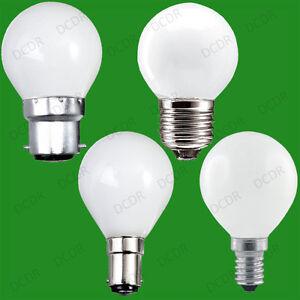 12x-Opale-Golf-a-Variation-Standard-Ampoule-25W-40W-60W-BC-Es-Sbc-Ses-Lampes