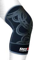RDX Neoprene Brace Knee Support MMA Pad Guard Protector Gel Sports Work Foam Cap