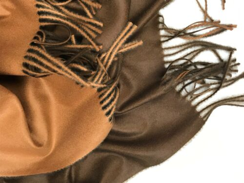 cashmere scarf pashmina hijab shawl soft wrap new fashion contrast reversible