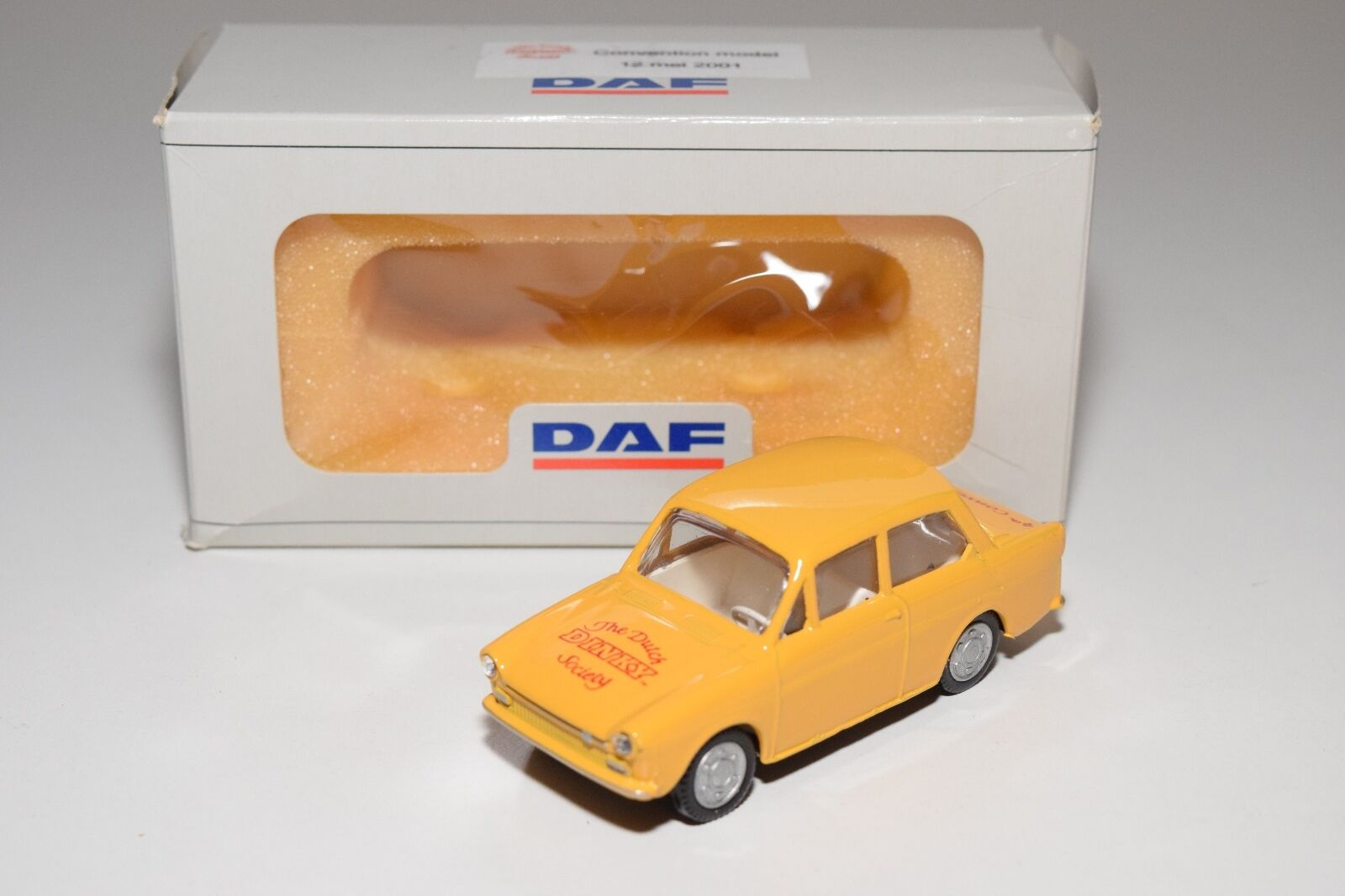 LION CAR TOYS DAF VARIOMATIC THE DUTCH DINKY SOCIETY 4TH CONVENTION MINT BOXED