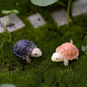 AA-EG-10-Stueck-Miniatur-Puppenhaus-Bonsai-Feengarten-Landschaft-Schildkroete