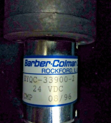 Barber-Coleman Co 24 VDC EYQC-33900-2 Gear Motor