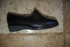 Dark Brown Leather BALLY Laced Shoes w/Shearling Insole UK 3 E or US 5.5