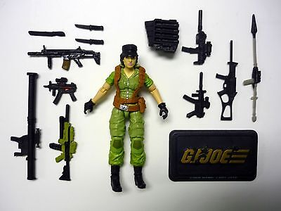 GI JOE LADY JAYE 50th Anniversary Action Figure COMPLETE 3 3/4 C9+ 2014