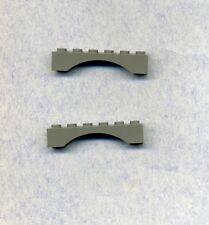 Weiß -2 Stück Dachstein -negativ- 4 x 4-45° Lego--4854--Schrägstein
