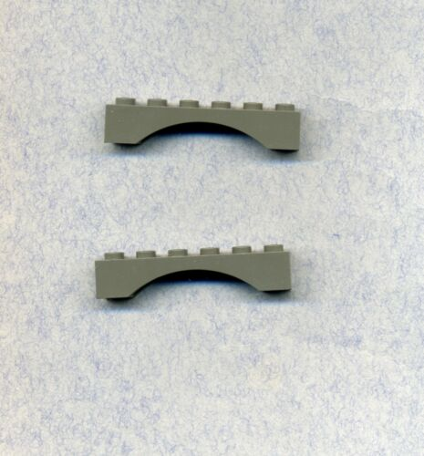 Grau//OldDKGray Lego--3455--Bogen,Brücke-Rundbogen- -1 x 6 x 1 2 Stück