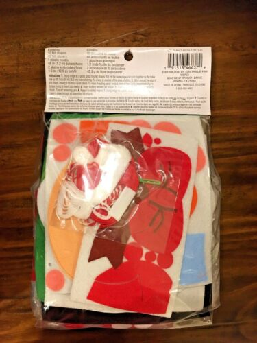Creatology Christmas Noel Craft Felt Banner Kit 61pc New Age 6+