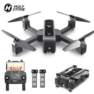 Holy Stone HS550 Brushless GPS RC Drone 2K Camera FPV Quadcopter + 2 Batteries