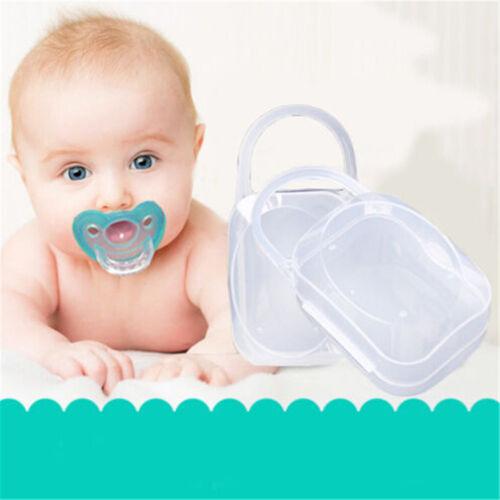 Portable Boy Infant Pacifier Nipple Case Cradle Holder Storage Box Baby SupPRUK