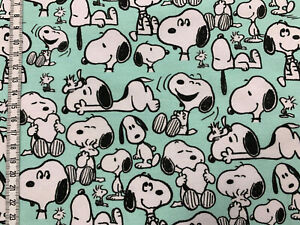 Biojersey-Snoopy-Allover-mint-Peanuts