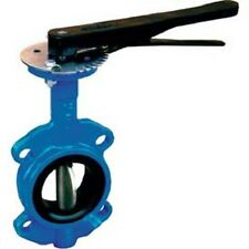 Milwaukee Valve Size 4 In Butterfly Valve Wafer Style HW-234V 4