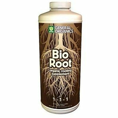 General Hydroponics Bio Root 1 Quart 32oz - bioroot gh organic vitamin stem