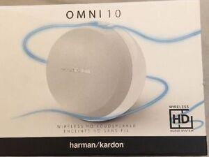 Tv, Video & Audio Tragbare Geräte & Kopfhörer Effizient Harman/kardon Omni 10 Wifi Hd Speaker System With Bluetooth & Firecast White