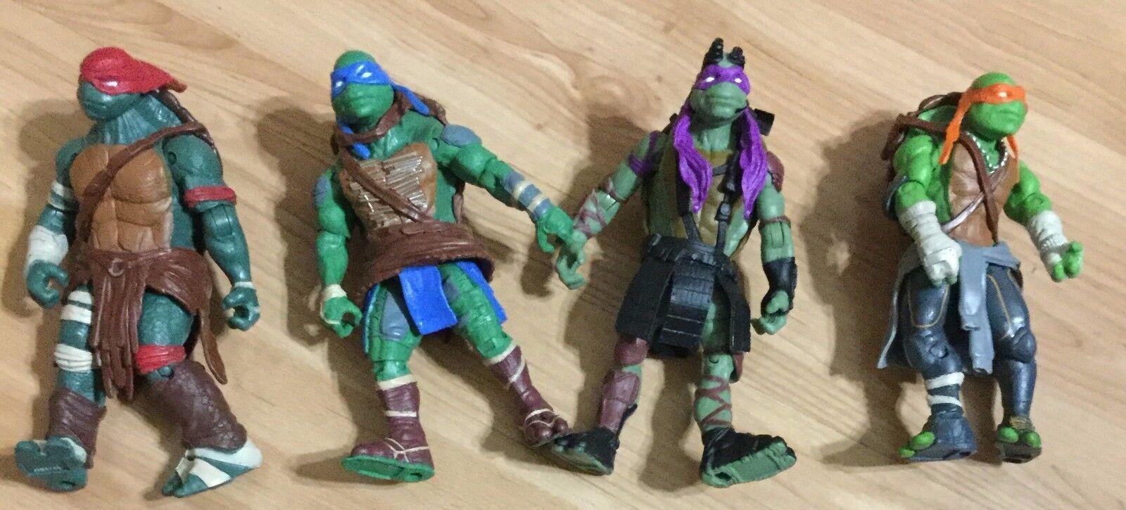 Playmates 2014 Teenage Mutant Ninja Turtles Movie Movie Movie Action Figures by Viacom 0371f7
