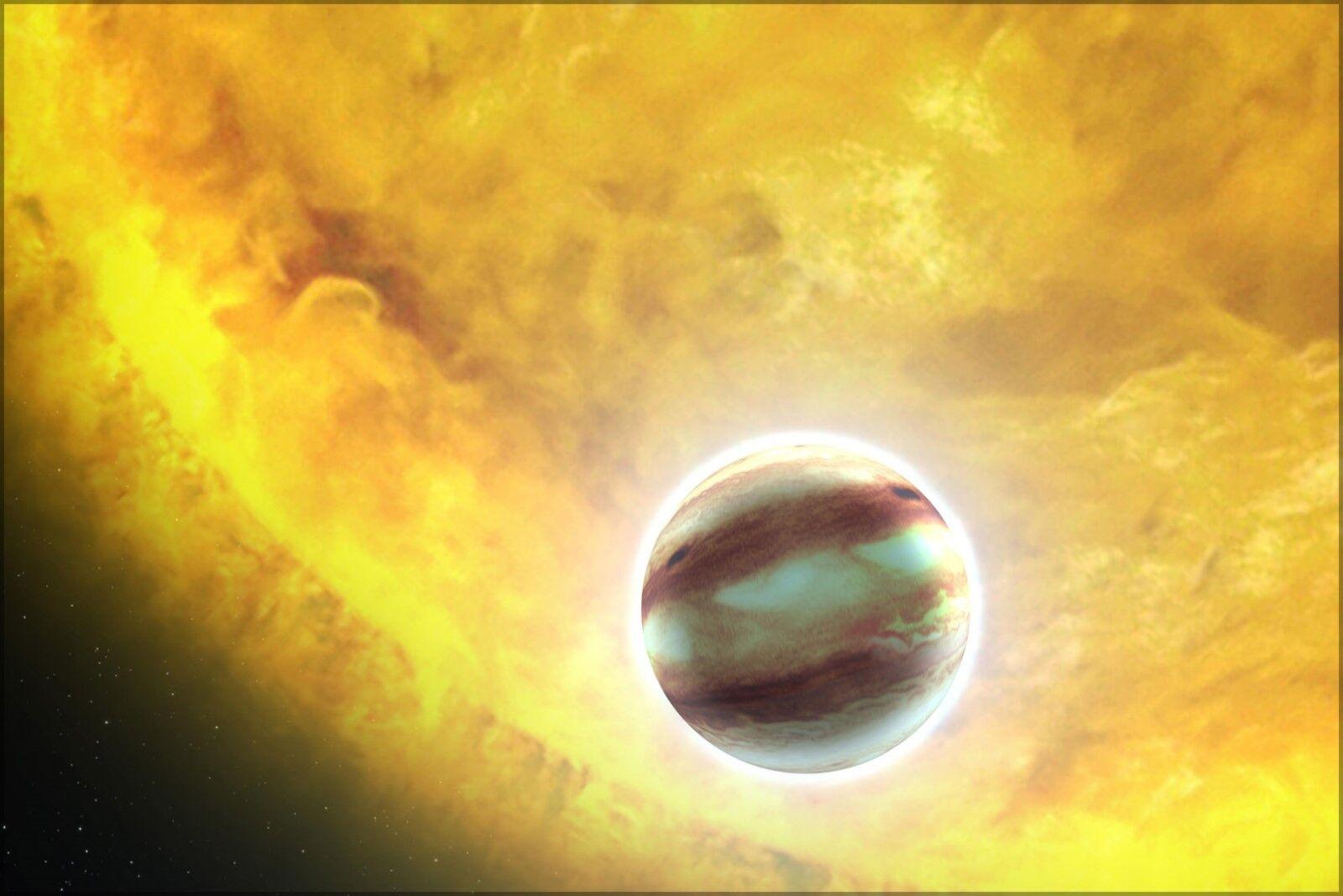 Poster, Many Größes; Concept Of Planet Hat-P-7B A Hot Jupiter Class Planet