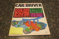 CAR AND DRIVER DODGE HEMI-CHARGERE ROAD TEST NOVEMBER 1967 VOL.13 #5 9248-1 #591