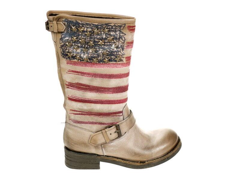Metisse Schuhe Stiefel 2201 taupe Gr. OVP 40 Original Neu und OVP Gr. b73cca