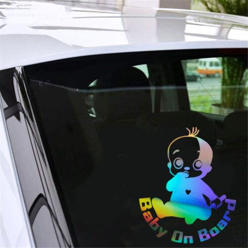 Lovely Little Child BABY ON BOARD Sticker Car Window Truck Bumper Vinyl Decal