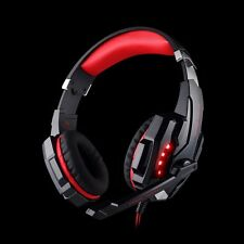 3.5mm Gaming Headsets Mic LED Headphones Stereo Surround for Cell Phone PS4 Xbox