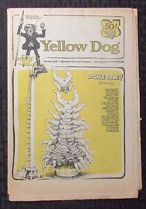 1968-YELLOW-DOG-v-2-2-VG-FN-5-0-Double-Issue-9-10-R-CRUMB-Shelton-Wilson-14pgs