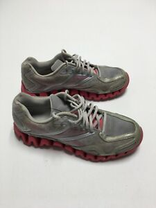 Reebok-Womens-Shoes-Size-10-Zig-Tech-Trail-Athletic-Running-Shoes-Gray-Pink