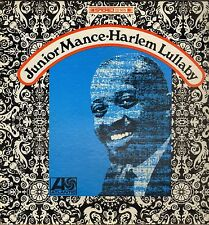 "JUNIOR MANCE ""HARLEM LULLABY"" JAZZ LP 1968 ATLANTIC SD 1479 STEREO"