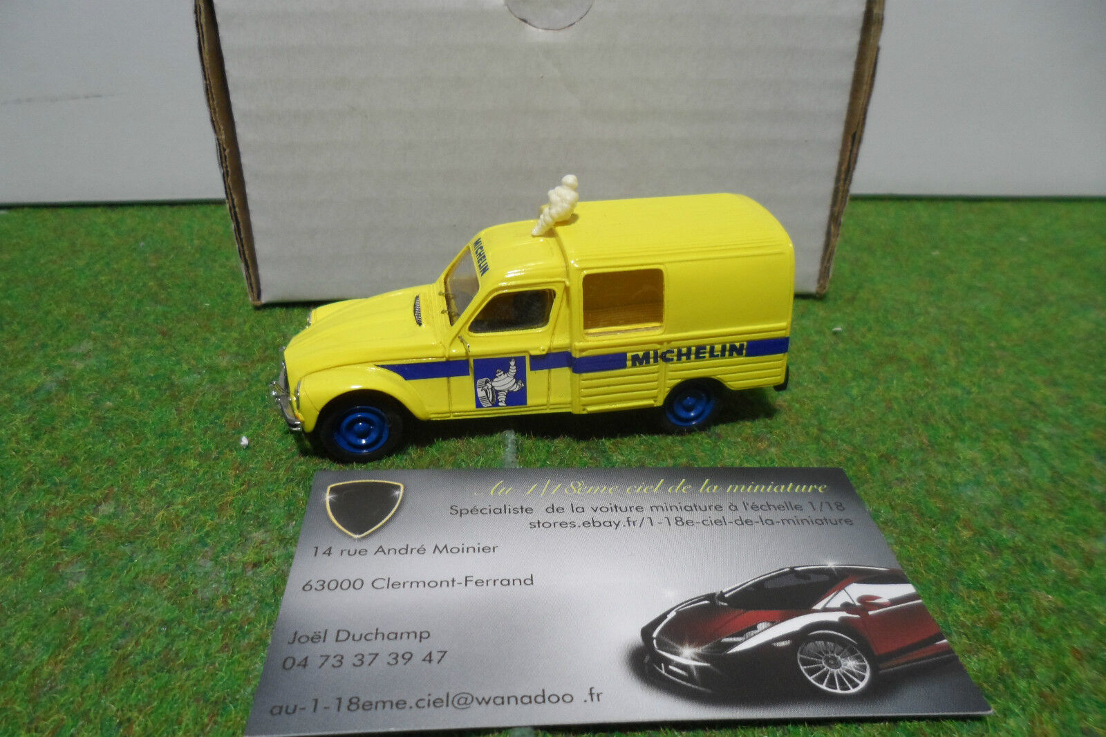 CITROËN AIANE MICHELIN KIT MONTE au 1 43 ORIGINAL MINIATURES PUB 006 voiture