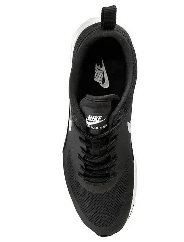 NIKE AIR MAX THEA WOMEN's WOMEN's WOMEN's RUNNING MESH BLACK - SUMMIT WHITE AUTHENTIC BRAND NEW 807a7e