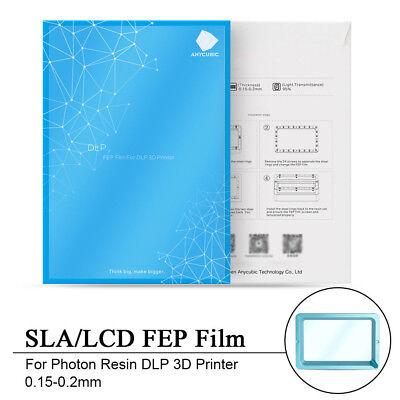 5PCS Pellicola FEP DLP LCD STAMPANTE 3D per la stampante SLA DLP Photon resina di alta qualità