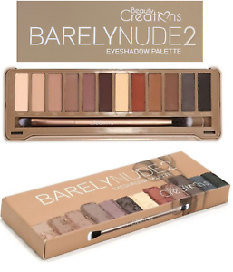 Beauty-Creations-Barely-NUDE-2-Eyeshadow-Palette-Neutral-Eye-shadow-Palette