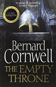 The-Empty-Throne-The-Last-Kingdom-Series-Book-8-by-Cornwell-Bernard-Book-The
