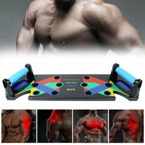 Liegestützbrett Taining Fitness Push Up Brett 9-in-1 Multifunktion Muscleboard