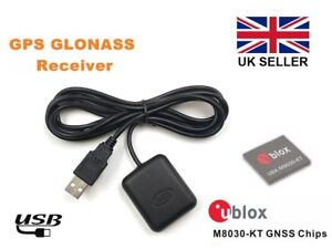 Details about BN-82 USB GPS Receiver with stick down base, Ublox 8, Win  7/8/10, Linux, RasPi