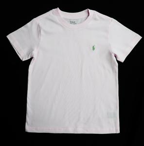 Polo-Ralph-Lauren-Kid-039-s-Light-Pink-S-S-Tee