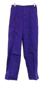 Scrub Pants Purple Crest Uniforms Ladies Nursing Scrubs
