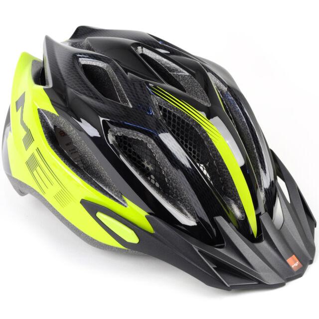 MET Crossover Active Bike Helmet Blue//Black//Matt X-Large