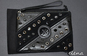 Authentic-Mimco-SUPERNATURAL-MEDIUM-POUCH-Black-BNWT-RRP-179