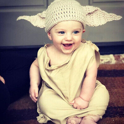 handmade crochet dobby hat harry potter yoda house elf photo props baby child