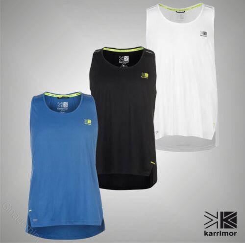 Mens Branded Karrimor Breathable X Lite Running Vest Crew Top Size S M L XL